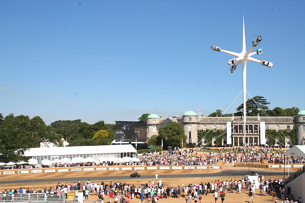 Goodwood Festival of Speed and Car Storage
