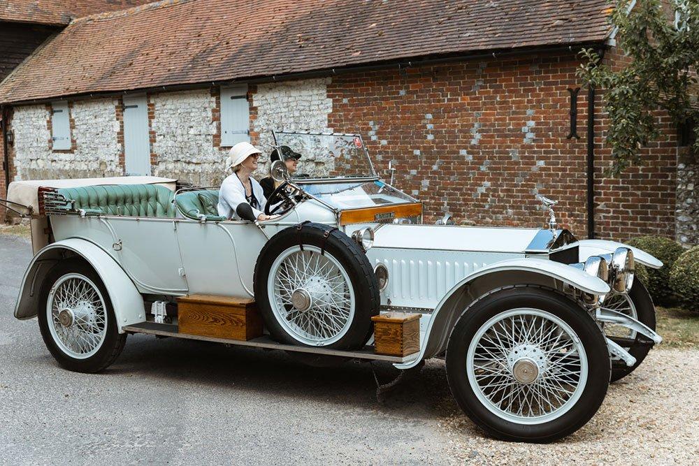 Katie Forrest & Nellie 1912 Rolls Royce Silver Ghost